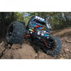Traxxas SUMMIT ROCK N' ROLL - 4X4 - 1/16 BRUSHED AVEC BATTERIE ET CHARGEUR TRX72054-1