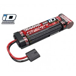 TRAXXAS ACCU 8.4V POWER CELL 5 3300MAH NIMH STRAIGHT ID 2940X