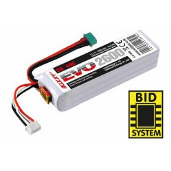 Accu LiPo ROXXY EVO LiPo 3S 2600mAh 40C av.BID-Chip