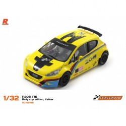 Scaleauto Peugeot 208 T16 Rally Coupe Edition Jaune SC-6178B