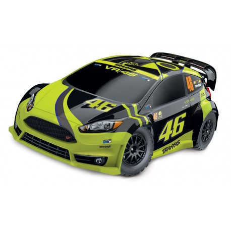 Traxxas RALLY FORD FIESTA ST ELECTRIC RALLY RACER TQ 2.4 VR46 ROSSI EDITION