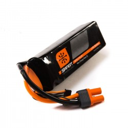 Spektrum 5000mah 6S 22.2V Smart LiPo 30C IC5 (SPMX50006S30)