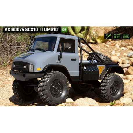 Axial 1/10 SCX10 II UMG10 4WD Rock Crawler Kit (AXI90075)