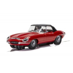 Scalextric 4032 Jaguar E-Type - Red 848CRY
