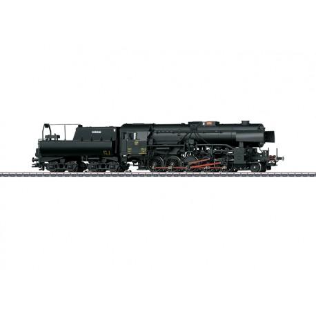 Marklin 39046 Locomotive à vapeur lourde, série 5519, avec tender bassine pour trains marchandises