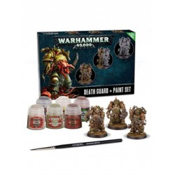 Warhammer 40,000 : Peintures - Death Guard Paint Set 60-27-04