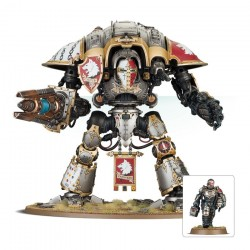 Warhammer 40K Garde impériale Knight Preceptor Canis Rex 54-15