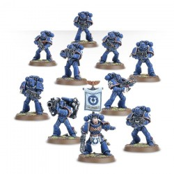 Warhammer 40K Space Marine Tactical Squad 48-07