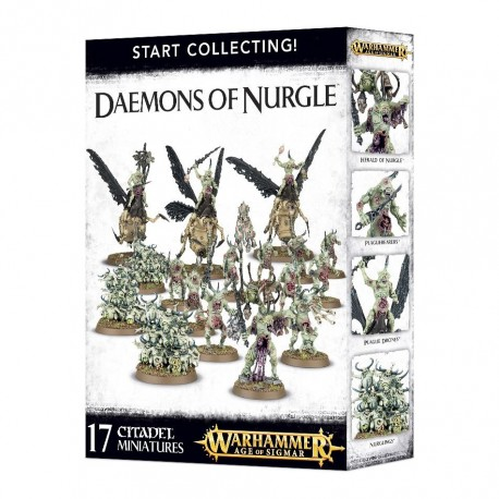 Warhammer Age of Sigmar Start Collecting! Daemons of Nurgle 70-98