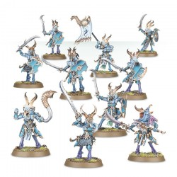 Warhammer Age of Sigmar : Chaos - Tzeentch Arcanites Tzaangors Enlightened 83-74