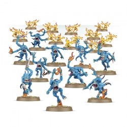 Warhammer Age of Sigmar : Chaos - Deamons of Tzeentch Blue Horrors & Brimstone Horrors 97-30