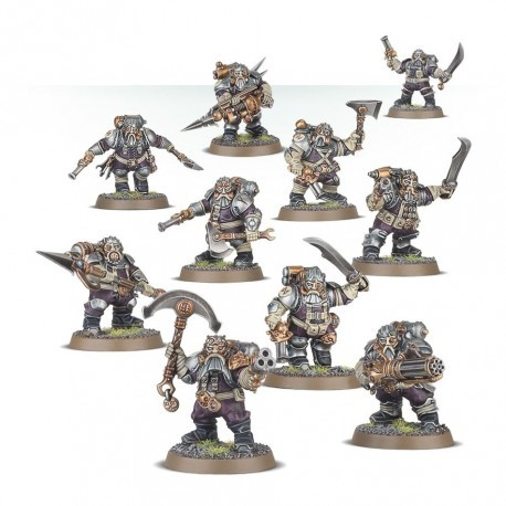 Warhammer Age of Sigmar : Order - Kharadron Overlords Arkanaut Company 84-35