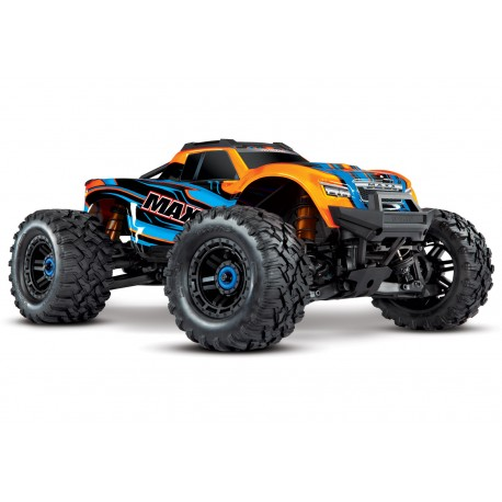 Traxxas Maxx 1/10 Scale 4WD Brushless Electric Monster Truck, VXL-4S, TQi TRX89076-4