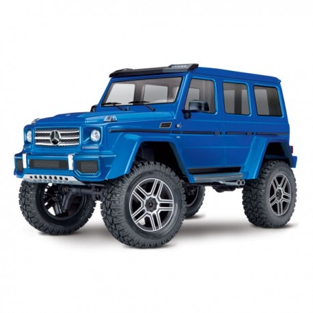 TRX-4 MERCEDES G500 4X4 BLUE WITH LED SET TRX82096-4BLUE-LED