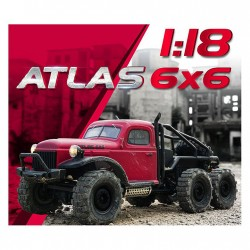 Rochobby DODGE ATLAS SCALER 1/10 6WD RTR