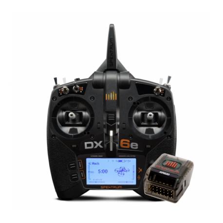 Spektrum DX6E TRANSMETTEUR DSMX 6 CANAUX AVEC AR620 - SPM6655EU