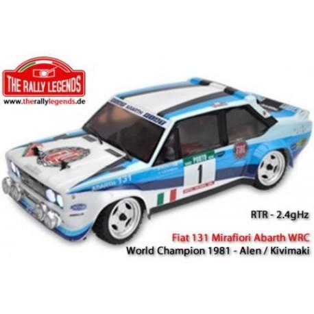 Rally Legends Fiat 131 Mirafiori abarth WRC RTR with Lights