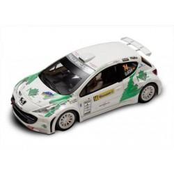 Avantslot Peugeot 207 S2000 IRC dédicacée