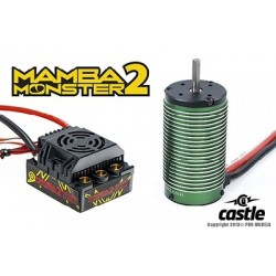Castle Mamba Monster 2 1:8TH 25V EXTREME CAR ESC WATERPROOF WITH 2200kv motor