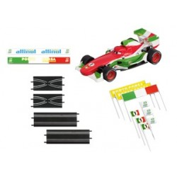 "Carrera DISNEY/PIXAR CARS 2 KIT D'EXTENSION / VÉHICULES ""FRANCESCO BERNOULLI"" 61653"