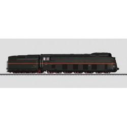 37051 Locomotive à vapeur profilée avec tender séparé