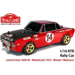 Rally Legends Lancia Fluvia HF 1600 Rally 1972 - 1/10 RTR