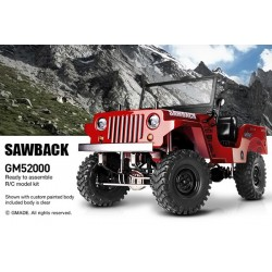 Gmade GS01 Sawback 4WD Kit