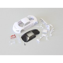 Kyosho Audi R8LMS White body set w/ Night Race Mini-Z à peindre