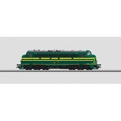 39672 Locomotive diesel belge SNCB