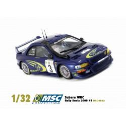 Subaru Impreza WRC Rallye Kenya 2000