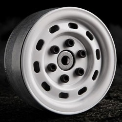 GMADE 1.9 SR02 BEADLOCK WHEELS (GLOSS WHITE)