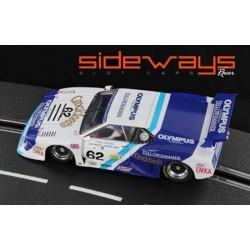 Sideways BMW M1 Le Mans 1982 n°62