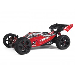 ARRMA BUGGY TYPHON 6S 4WD BLX Rouge
