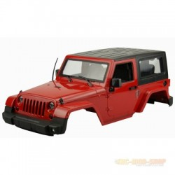 AMEWI Carrosserie Jeep Rubicon Scale realistic 1:10 Rouge