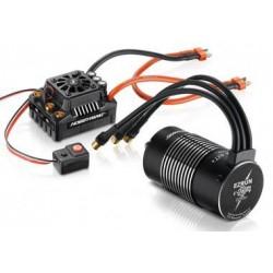 Ezrun Combo MAX8 150A T-Plug / Motor SL-4274-2000 pour 1/8