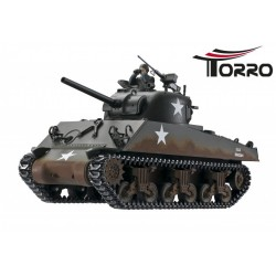 Torro RC 1:16 Panzer Sherman M4A3 Profi-Edition BB Version