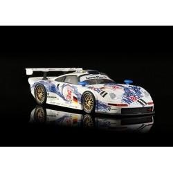 BRM Porsche 911 GT1 n°35 Mobil Warsteiner – 4 heures de Spa Francorchamps en 1996