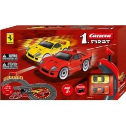 Carrera 1. First Ferrari Racebaan