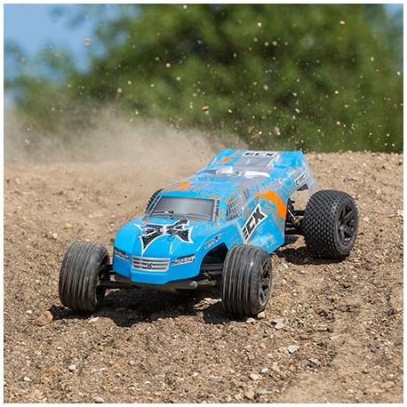 ECX Circuit Stadium Truck 1/10 2WD RTR LIPO Bleu/orange