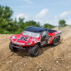 ECX Torment SCT Brushed RTR LiPo Red/Sliver