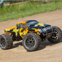 ECX Ruckus Monster Truck RTR LiPo Black/Orange 2WD