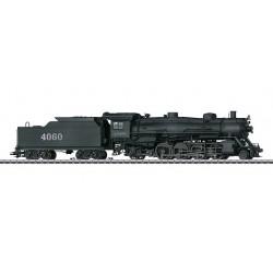 """37935 Locomotive à vapeur avec tender séparé """"Mikado"""""""