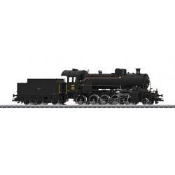 """39250 Locomotive à vapeur avec tender séparé, série C 5/6 """"Elefant""""."""