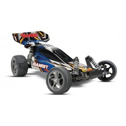Traxxas BANDIT 1/10 VXL 2WD Off-Road buggy TQI 2,4Ghz