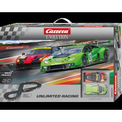 Carrera Evolution Coffret Unlimited Racing