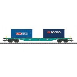 47056 Wagon porte-conteneurs type Sgnss SNCB