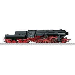 39042 Locomotive lourde à vapeur BR 42 pour trains marchandises, avec tender bassine.