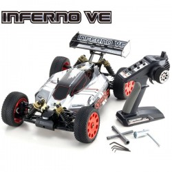 Kyosho INFERNO VE TYPE 2 READYSET EP (KT231P) K.34101T2B