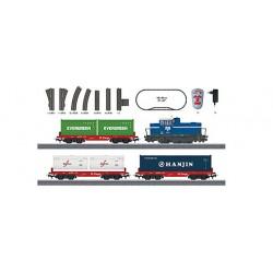 """Marklin 29452 Coffret de départ """"Train-bloc de conteneurs"""". 230 V."""