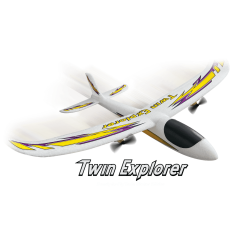 Dromida Twin Explorer EP Motor Gliter 480mm RTF